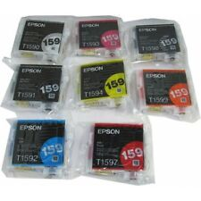 8 Genuine EPSON 159 Color Ink cartridges Combo---R2000