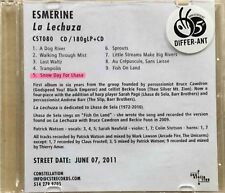 Esmerine – La Lechuza / A Dog River / Last Waltz / Trampolin [ CD MAXI PROMO ]