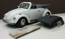 Revell 2001 VW Käfer 1302 Cabriolet Cabrio Beetle weiss + Hardtop in 1:18