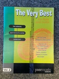 The very best for flute and guitar Vol. 2