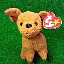 Rare Ty Beanie Baby Tuffy The Terrier NEW Dog Plush Toy RETIRED 1996 - MWMT