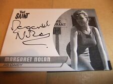 MARGARET NOLAN MN1 AUTOGRAPH PROOF CARD THE SAINT ROGER MOORE UNSTOPPABLE