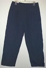 navy blue nylon waterproof snowboard ski pants by Airwalk size M