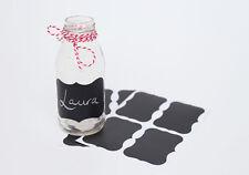 12x Blackboard ChalKboard Stickers Labels Wedding Favour Jar Tag Lolly Buffet