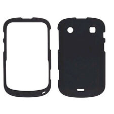 Wireless Solutions Soft Touch Snap-On Case for BlackBerry Bold 9900/9930 - Black
