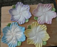 """Vintage Bombay Company Set of 4~8"""" Spring Blossom Flower Plates1992 New/Open box"""