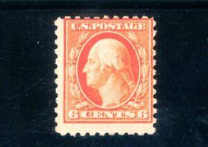 USAstamps Unused F US 1914 Washington Scott 429 OG MLH