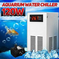 Aquarium Water Chiller Fish Tank Shrimp Cooler Heating Cooling Machine 100-240V