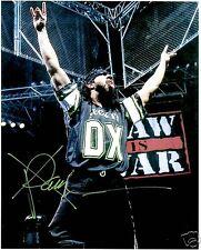 X-PAC SEAN WALTMAN AUTOGRAPHED 8X10 WWE