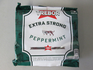4, 8, 12 or 16 Rolls Trebor Extra Strong Mints 41.3g Peppermint Flavour