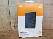Western Digital WDBA2D0020BBL-WESN My Passport 2TB USB-C Portable External...