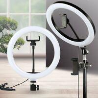 Sn _ LED Bague Remplir Lumière Studio Photo Rotation USB Variable Selfie Phon