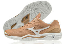 Mizuno WAVE STEALTH 5 Handball Shoes Badminton Shoes Brown Indoor X1GA180096