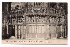28 - cpa - Cathédrale de CHARTRES - Pourtour du Choeur  ( i 897)