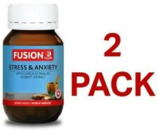 Fusion Health Stress & Anxiety 120 Tablets - 2 Pack