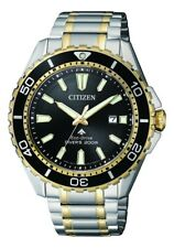 CITIZEN BN0194-57E Eco-Drive Mens Solar Diver's Watch WR200m RRP $650.00