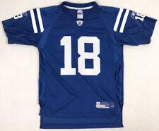 Reebok Peyton Manning Youth Kids L Large Jersey Indianapolis Colts NFL Football