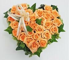 0901099994 Hänger Schmetterling Blüte Herz braun lackiert