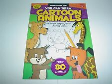 You Can Draw Cartoon Animals : A Simple Step-by-Step Drawing Guide! by...
