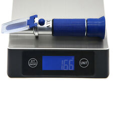 Amtast Salinity Refractometer Tester Atc for Brine Food Industry Seawater 0~28%