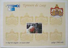 Stadspost Haarlem 2003 - Epreuve de Luxe Paus, Pope Johannes Paulus II (3)
