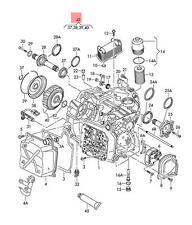 Genuine Repair set for multi-coupling VW AUDI Beetle Convertible CC 02E398029B