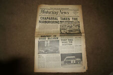 Motoring News 6 June 1966 Nurburgring 1000kms Indy 500 Scottish Rally Japan GP