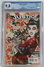 Justice League #39 CGC 9.8 White The New 52 4/2015 Harley Quinn Variant Cover