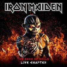 IRON MAIDEN CD - BOOK OF SOULS: THE LIVE CHAPTER [2CD/BOOK DELUXE EDITION] - NEW
