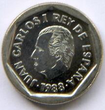 JUAN CARLOS I 200 PESETAS 1988 KM-829 (CARTUCHO/MINT ROLL)