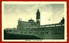 ERITREA ITALIANA, ASMARA, LA CATTEDRALE, 2 COLONIAL STAMPS C5, 1936     m