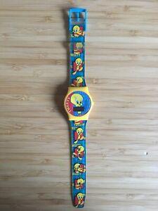 1998 Genuine Tweety Bird Digital Watch Looney Tunes