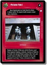 Star Wars CCG Endor DS Rare Perimeter Patrol