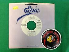 "Michael Jackson Off The Wall 7"" 45RPM Record Single PROMO Stereo Piranha Records"