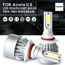 Front 9005 HB3 LED Headlight Conversion Kit Bulbs Beam For Acura ILX 2015-2013