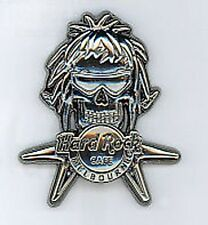 Hard Rock Cafe MELBOURNE Silver Skull Series. Pin