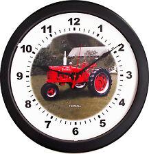 "New Vintage 1939-1953 McCormick Farmall Model H Tractor Wall Clock Massive 14"""