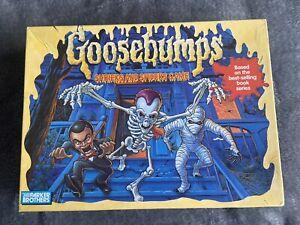 Goosebumps Vintage 1995 Shrieks And Spiders Board Game Parker Brothers