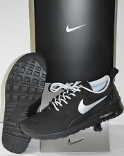New Nike Air Max Thea Black on Black/Silver Rare Colorway sz 7 Running Sneakers