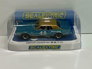 Scalextric C4160 Mercury Cougar #48 Blue Gold New Boxed