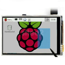 """3.5"""" Pantalla LCD Pantalla Táctil Con Estuche + Disipador térmico de 9 capas para Raspberry Pi 3 B +"""