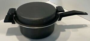 MIRACLE MAID 2 quart Gem Coat Anodized Aluminum stainless steel cooking surface