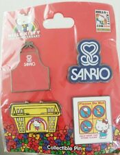 Hello Kitty Con 2014 Collector Vintage Pin Set Exclusive