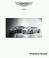 2004 - 2011 ASTON MARTIN DB9 COUPE & VOLANTE WERKSTATTHANDBUCH WORKSHOP MANUAL