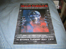 IRON MAIDEN-(visions of the beast)-1 POSTER-11X17-NMINT-RARE