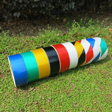Car Reflective Safety Warning Conspicuity Tape Film Sticker Multicolor 50mm x 3