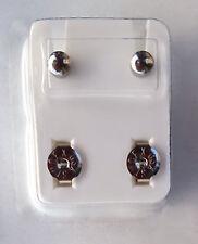 1-Paar-Medizinische Ohrstecker,Ohrringe,Gesundheitsstecker 2, Ohrringe Titan