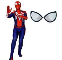 Spider Lycra Zentai Spiderman Costume Cosplay Full Bodysuit Jumpsuit Halloween