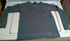 LIFE IS GOOD tshirt boys long sleeve small 6-8 blue