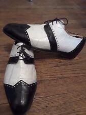 Mauri Mezlan Fennix Mr'Bs alligator crocodile skin dress casual shoes